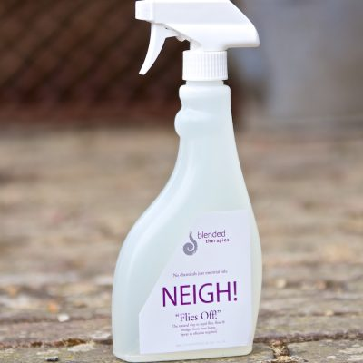 Neigh flies off! Spray for horses from Blended Therapies