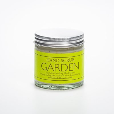 Garden Hand Scrub for hard working gardeners! From Blended Therapies