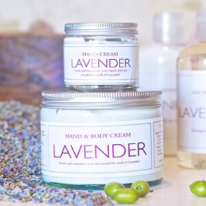 Lavender Hand and Body Cream from Blended Therapies