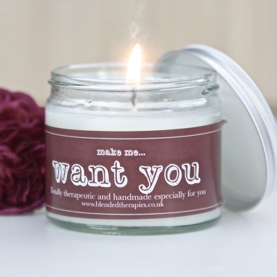 Make Me... Want You Candle from Blended Therapies