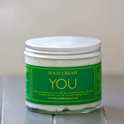 You Foot Cream from Blended Therapies