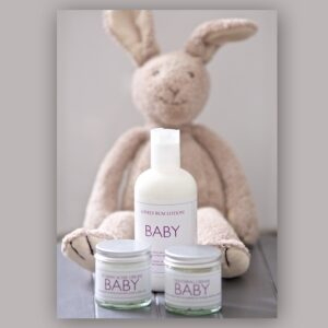 Baby Teething Cream, Tummy Ache Cream and Lovely Bum Lotion from Blended Therapies