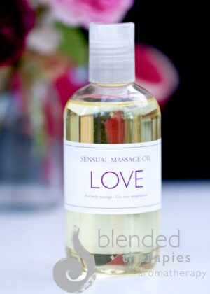 Love Sensual Massage Oil from Blended Therapies