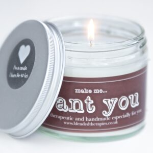 Make Me... Want You Aromatherapy Candle from Blended Therapies