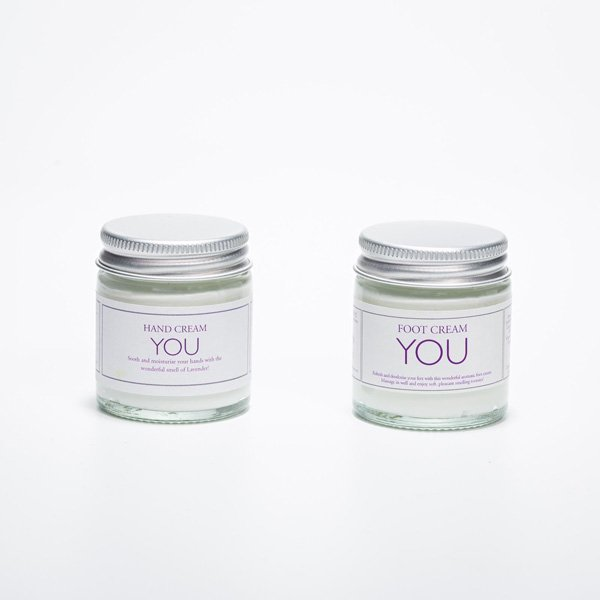 YOU Hand & Foot Cream from Blended Therapies