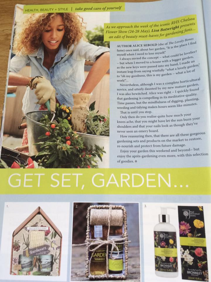 Gardeners Gift Set features in Optima Magazine