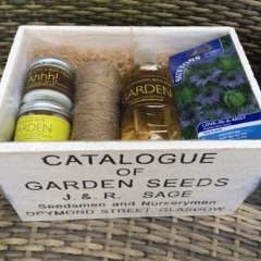 Gardeners Treat Wooden Gift Box Set from Blended Therapies