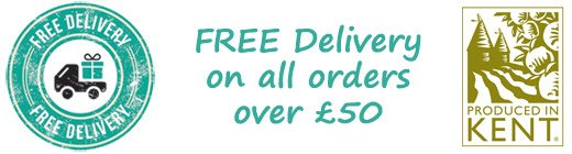 Free Delivery on Orders over £50 from Blended Therapies