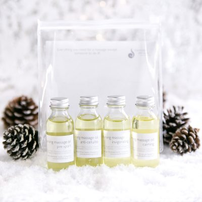 Massage Oil Kit with Essential Oils Kit from Blended Therapies