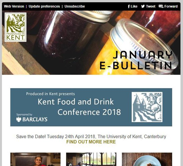 November News from Produced in Kent