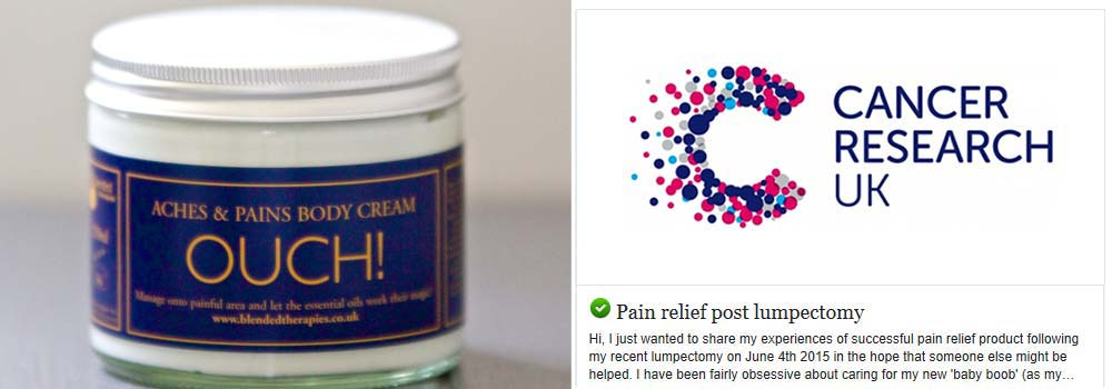 Pain relief post lumpectomy