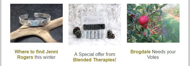 Blended Therapies special offer in the November edition of Produced in Kent newsletter