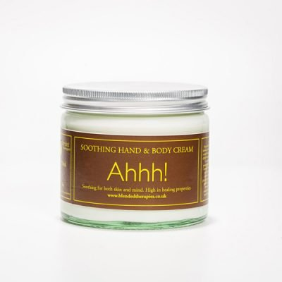 Ahhh! Soothing Hand and Body Cream from Blended Therapies