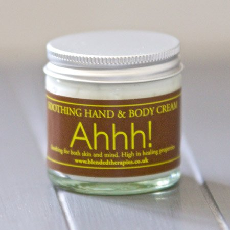 Ahhh soothing hand & body cream from Blended Therapies