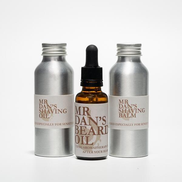 Mr Dan's Shaving Range & Beard Oil by Blended Therapies